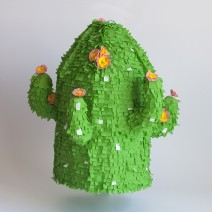 Handmade Cactus Pinata by Jude Lowes
