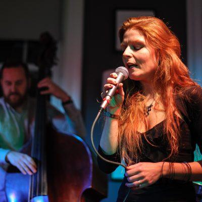 Zoë Gilby sings Monk - Pannonica gig - Splinter at the Bridge 9 Nov 2014  _cKen Drew