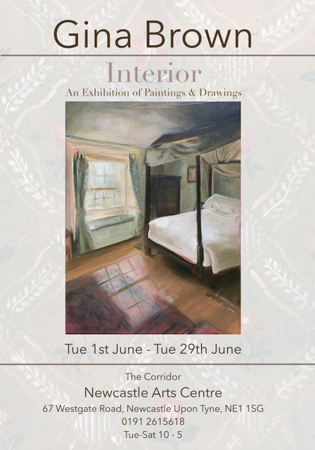Gina-Brown-Interiors-Exhibition-Poster-Newcastle-Arts-Centre