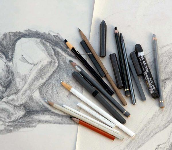 Exploring-Drawing-Mediums-Art-Course-December-NAC
