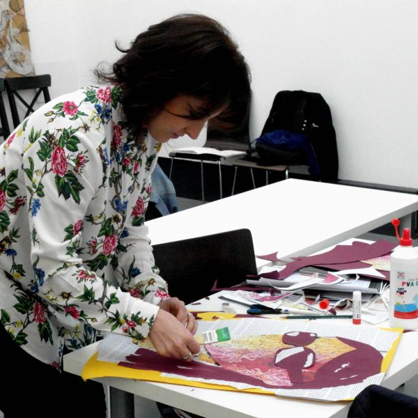 Creative Vision through Drawing, Painting and Collage