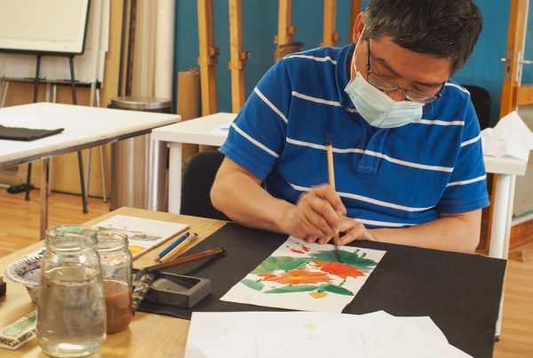 Chun Chao- Chinese-Painting-Workshop