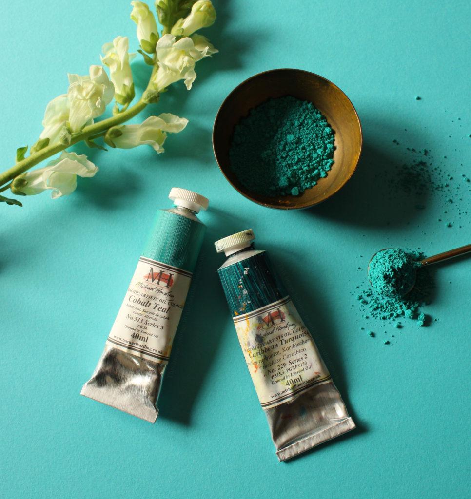 Pigments-Michael Harding-process