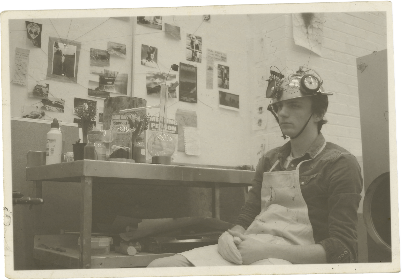 Jed Buttress-helmet photo